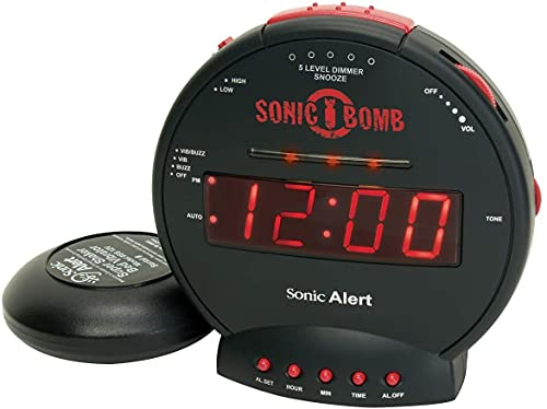 Bed Shaking Alarm Clock
