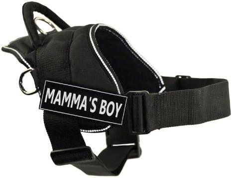 DT Max 54% OFF Max 73% OFF Fun Harness Mamma's Boy Black Trim Reflective - with Small
