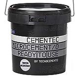 CEMENTEC Microcemento listo al uso WATER RESISTANT Ready to use (5 kg, Blanco)