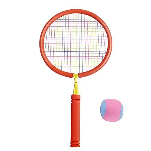 FENGXU Badminton Racket for Children 1 Pair, Ultralight Durable Titanium Alloy Badminton Racquets Tennis Badminton Sports Cartoon Set Indoor Outdoor Game