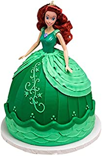 ariel princess doll cake