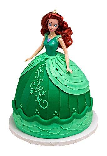 DecoPac Disney Princess Doll Signature Cake DecoSet Cake Topper, Ariel, 11'