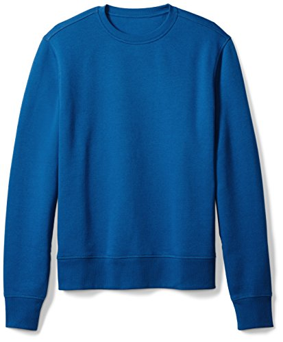 Amazon Essentials Men's Long-Sleeve Crewneck Fleece Sweatshirt, Blue, XX-Large