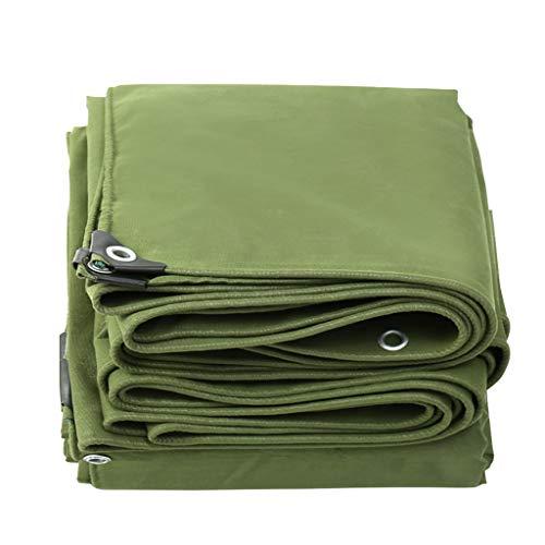JINGKE Tarpaulin Waterproof Canvas Wear Resistance Tarp Sheet, 650g/m², 16 Sizes Options,5x8m