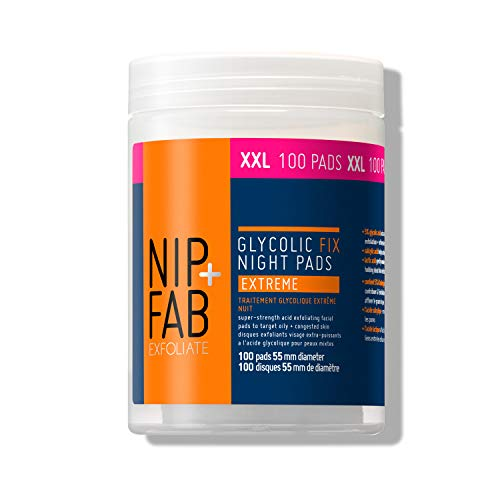Nip+Fab Glycolic Fix Night Pads Extreme, no colour, XXL, 135ml (100 Pads)