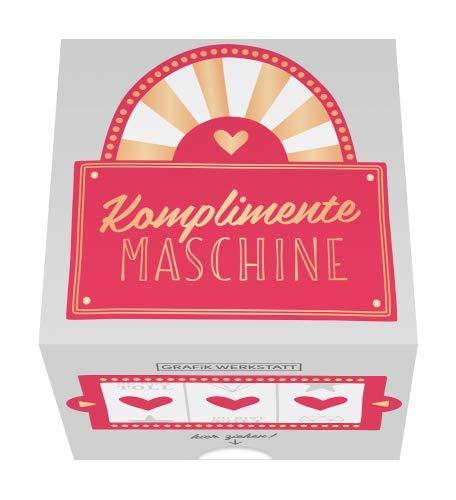 Grafik Werkstatt Message in a Box | Geschenkidee | 30 Kärtchen zum abreissen | Komplimente Maschine