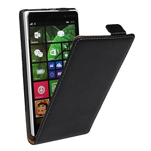 EximMobile Flipcase Handytasche Etui Tasche für Microsoft Lumia 532 Schwarz