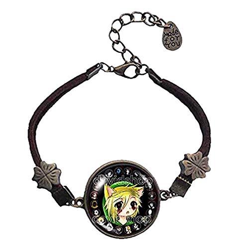 Handmade Fashion Jewelry Creepypasta CREEPY PASTA TICCI TOBY Bracelet Pendant Charm Eyeless jack Cute Ben is back Cosplay