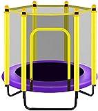 Mopoq Mit Nets Startseite Folding Indoor-Kinderklein Bouncing Kindersport Bungee Adult Fitness (Color : Purple)