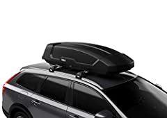 "A versatile roof-mounted cargo box for everyday use Provides 16 cubic feet of additional packing space Designed to fit a wide range a vehicles (works with most factory and aftermarket roof racks) Tool-free, quick-mount system ""clicks"" When roof box i..."