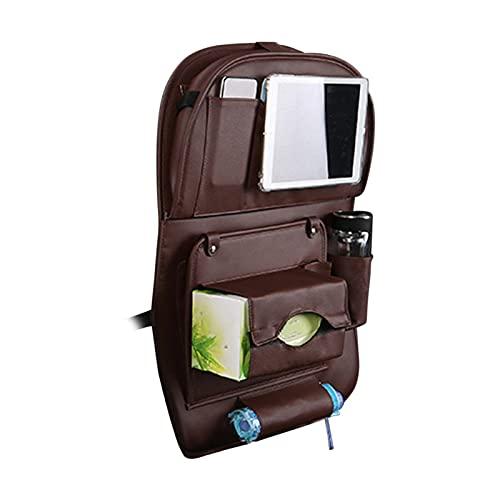 LOVOICE Organizador para asiento trasero de coche, funda protectora para asiento trasero de coche, plegable, mesa de comedor
