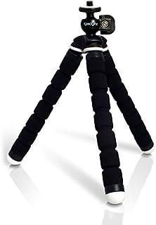 iGadgitz Lightweight Small Universal Flexible Foam Mini Tripod for Sony DSC-RX1, DSC-RX1R, DSC-RX10, DSC-RX100, DSC-RX100M2, DSC-RX100M3 - Black [並行輸入品]