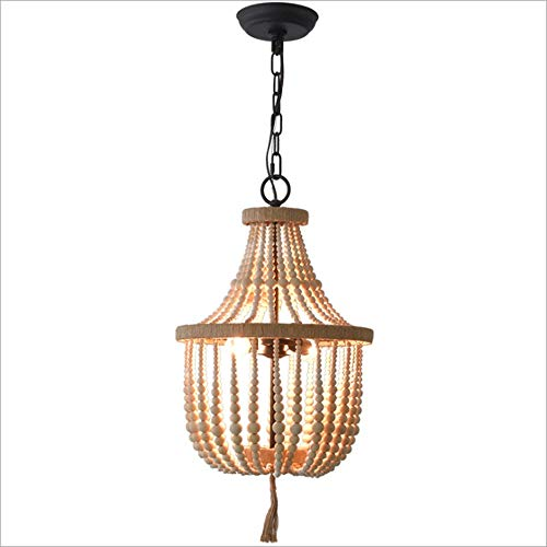 Lighfd Frans Rural Bridal Shop Wit Hout Kroonluchter Retro Creative Lamp Retro Maak Old Industrial Wind Restaurant Chandelier Corridor Balkon Kledingwinkel Light