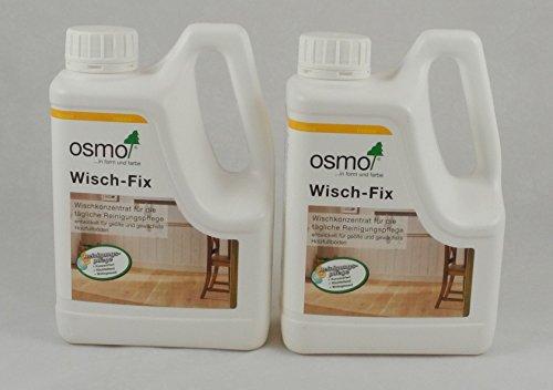 Osmo Spar-Set 2x Wisch-Fix 1l, für die regelmäßige Reinigung