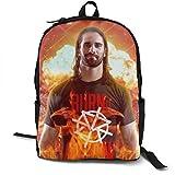 maichengxuan Mochila para portátil de viaje WWE R-Oman R-eigns mochila escolar casual senderismo mochila de día