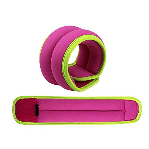 GAOJIAN Bolsa de Arena Simple Pesas para piernas para Baile, Baile Latino, práctica Infantil, función de Entrenamiento, Saco de Arena Auxiliar (0.5kgx2)- Pink