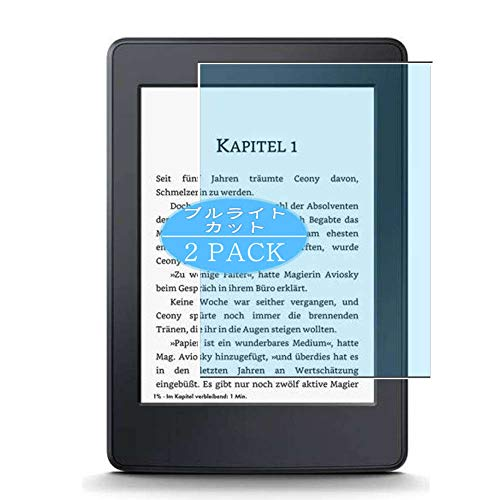 "VacFun 2 Piezas Filtro Luz Azul Protector de Pantalla, compatible con Amazon Kindle Paperwhite (2015) 6"", Screen Protector Película Protectora(Not Cristal Templado)"