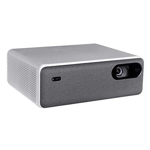 ASFF Proyector Doméstico Pantalla De 250 Pulgadas WiFi Bluetooth Proyector De Cine En Casa con Altavoz Dual 10Wpara La Familia De Juegos