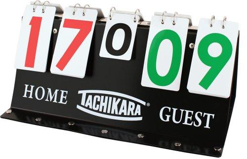 """Tachikara Porta-Score Flip Scoreboard , 17.25""""Lx 1.75""""Wx 8""""H"""