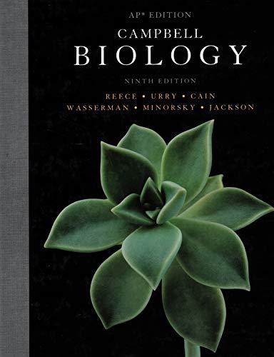 Campbell Biology AP Ninth Edition (Biology, 9th Edition)