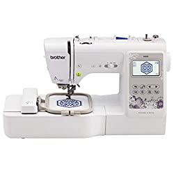 Best Embroidery Machine - Reviews & Buyer's Guide: Brother SE600 Combination Computerized Sewing and 4x4 Embroidery Machine