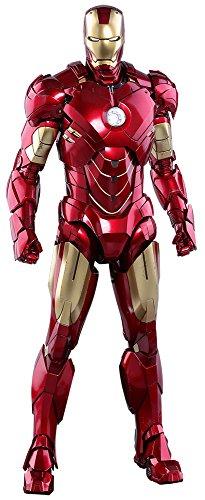 Marvel Hot Toys Iron Man 2 Iron Man Mark IV Diecast 1/6 Scale 12' Figure