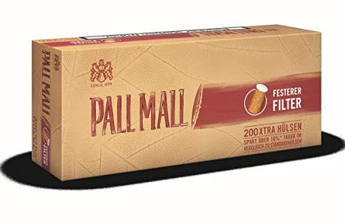 Pall Mall Authentic Red Xtra1000 (5x200) (Hülsen, Filterhülsen, Zigarettenhülsen)