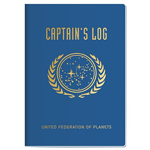 Star Trek Captain's Log Passport Sized Mini Notebook