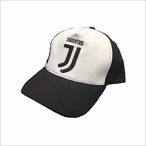 Juventus Berretto Cappellino Nuovo Logo con Visiera Ufficiale 2017/2018 Adulto