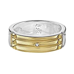 Bio-energetic Ring, Prosperity and Health The ring is made out of the highest 970 Silver . Each ring is handmade and has identical features to the original. Ring is 6mm wide and 2mm thick. Buy with confidence and get protected through ancient powers....