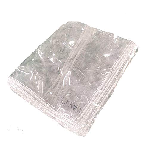 Clear Tarpaulin, Tarpaulin Waterproof Heavy Duty Metal Hole Tear-Resistant Plant Shed Outdoor Snow Protection Tent Tarps, 0.3mm Thickness,Heat Preservation,Waterproof,Reusable(0.8*3.5m(2.6*11.5ft))