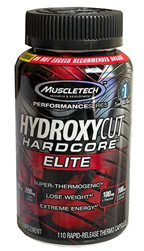 Hydroxycut Performance Series, Hardcore Elite, 110 Rapid-Release Thermo Caps