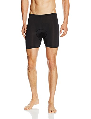 Baleaf Men's 3D Padded Cycling Underwear Shorts - Black, Large