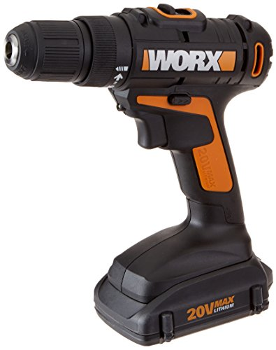 Worx 20V Cordless Drill & Driver W/2 Batteries