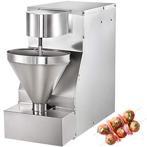 VEVOR Fleisch Ball Maschine 750 W Fleischbällchen Formmaschine 5 Förmig Meatball Forming Machine 280 Stk. Fleischbällchenmaschine Fleischklöschenhersteller Fleischformmaschine Arbeitsplatte