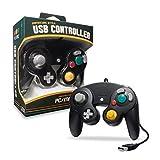 CirKa Premium GameCube USB Controller for PC/ Mac (Black)