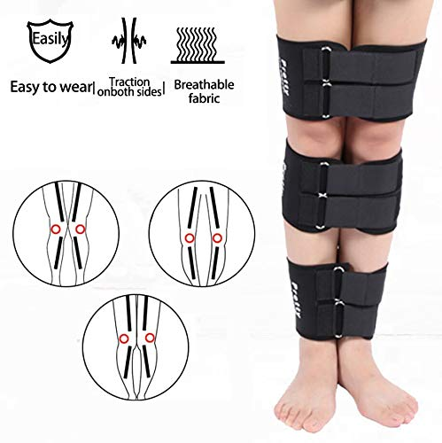 MBEN O-Beine Adjustable Korrekturband, Atmungsaktiv Auf Beiden Seiten 3 Stück/Set, X-Typ Leg Correction Tape Recovery-Schönheit Aufrichtung Verband Kit Für Kinder Und Erwachsene,M
