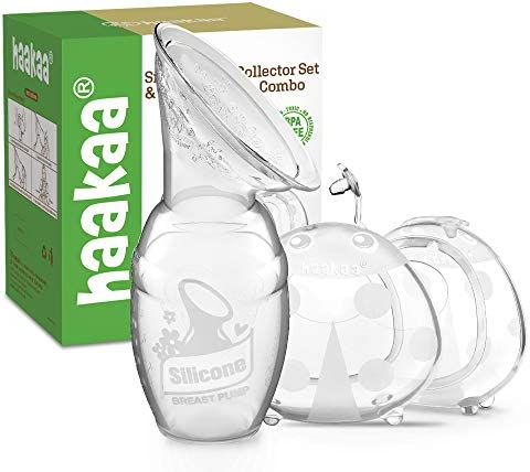 Haakaa Manual Breast Pump Breast Shell Combo Breastmilk Collector for Breastfeeding Silicone product image