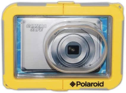 discount Polaroid Dive-Rated Waterproof Camera Housing outlet online sale For The Panasonic Lumix DMC-FH1, FH2, FH3, FH6, FH7, FH8, FH20, FH22, FH25, FH27, FS10, FS11, FS16, FS18, FS22, FS30, FS33, FS35, FX40, FX48, FX66, FX68, FX77, FX78, S1, S2, S3, SZ1, SZ7, ZR3, online sale ZX3 Digital Cameras outlet sale