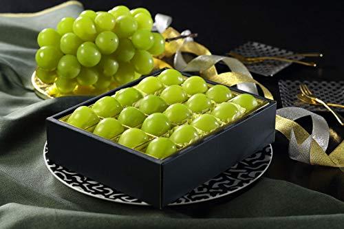 シャインマスカット ジュエルセレクション 岡山県産 特秀 3Lサイズ 20粒 お歳暮 クリスマス ギフト 葡萄 ぶどう ブドウ