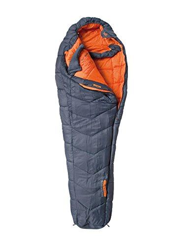 ALTUS Himalaya Saco de Dormir, Adultos Unisex, Gris/Naranja,