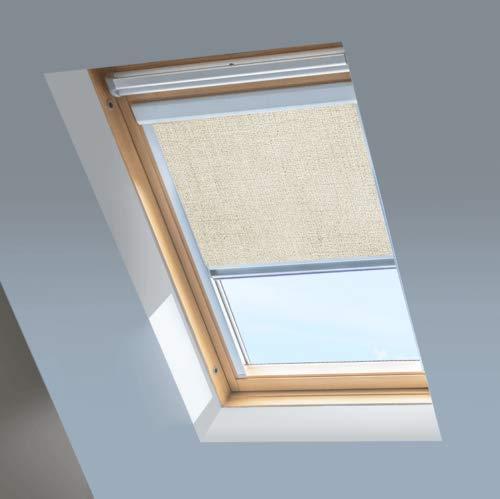 wie 78x140cm VKR Konzern Rooflite Velux Kunststoff Dachfenster Balio Schwingfenster mit Eindeckrahmen 78x134 cm