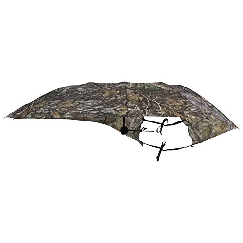 Allen company camo hunting treestand umbrella, 50 inches wide, realtree edge camo