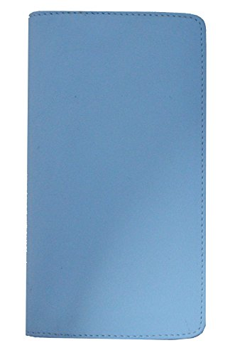 Visconti TC-7 Bifold Leder Scheckbuchhülle - Blau - Einheitsgröße