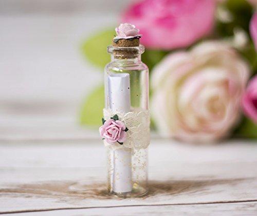 Happy Wedding Art Willst du Meine Trauzeugin Sein Flasche Flaschenpost Glasflasche Hochzeit Einladung Trauzeugin
