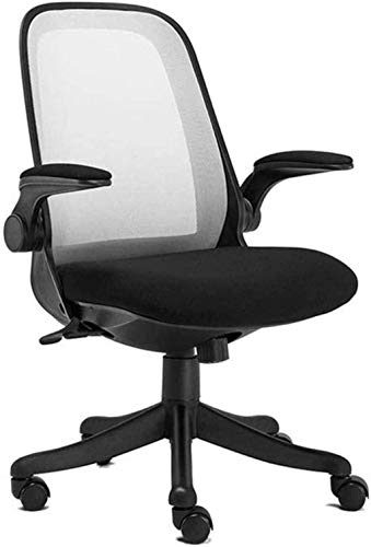 N/Z Life Equipment Game Chair Office Chair Home Desk Computer Chair Ergonomic with Reversible Armrest Seat Height Adjustable Swivel Chair Armchair (Color : Style2)