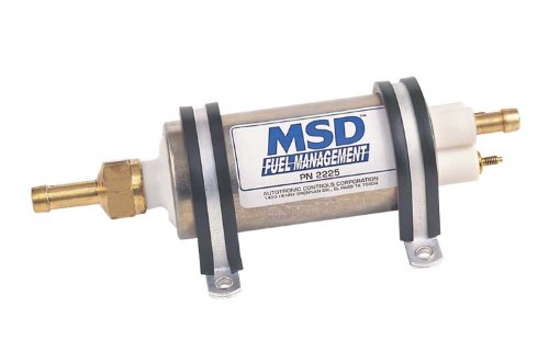 MSD 2225 High Pressure Electric Fuel Pump (43-GPH)