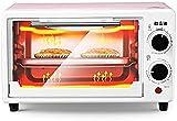 Mini-Ofen10L-Elektroofen mit doppelter Kochplatte, 2 voreingestellten Funktionen,...