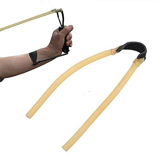 10個 パチンコ スリングショット 替えゴム 交換ハンド 屋外狩猟カタパルト交換