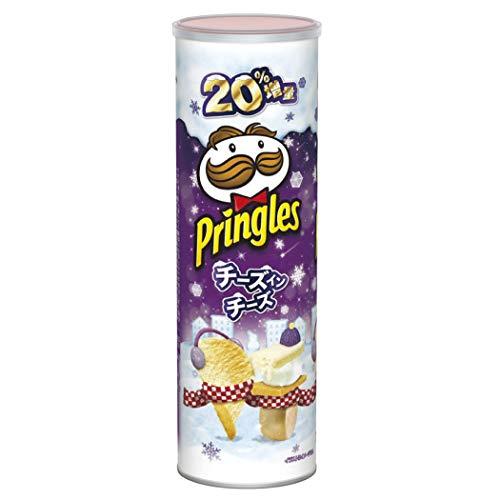 森永製菓 プリングルズ チーズインチーズ 増量 132g ×8本